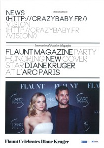 launching of the flaunt magazine new edition with diane kruger at larc paris0004