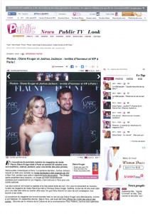 launching of the flaunt magazine new edition with diane kruger at larc paris0010