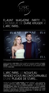 launching of the flaunt magazine new edition with diane kruger at larc paris0014